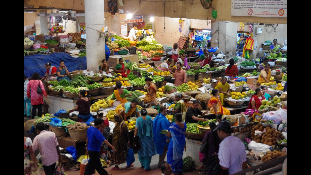 Market in Panaji (Goa)